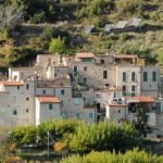medieval villages of Liguria Italy torri superiore
